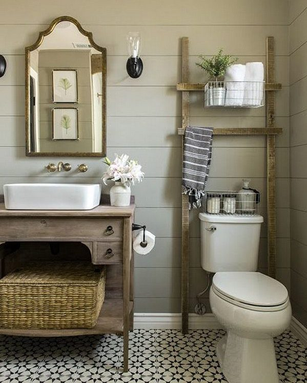 Ideas Para Decorar Baños Rusticos:IDEAS PARA DECORAR BAÑOS RÚSTICOS 2017