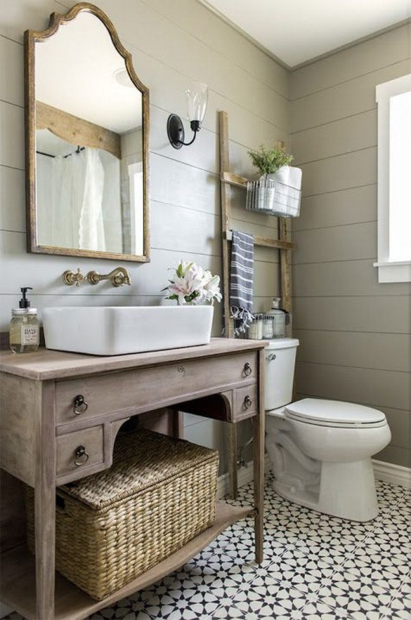 Azulejos Para Cuartos Baño Rusticos:Country Bathroom Design Ideas