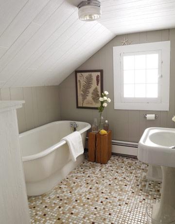 decoracion baños rusticos