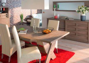 Muebles comedor modernos y baratos hoy lowcost for Comedor completo moderno barato