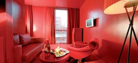 Cómo decorar salón en rojo. Fotos e ideas