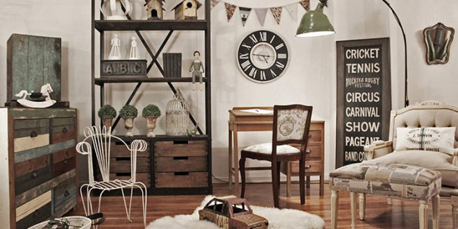 Tendencias 2018 decoraci n vintage barata y sencilla for Decoracion piso vintage