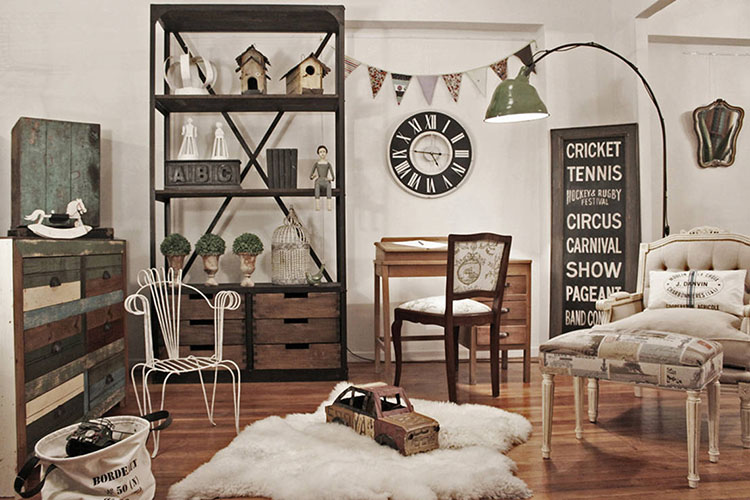 Tendencias 2018 decoraci n vintage barata y sencilla Revista interiores ideas y tendencias