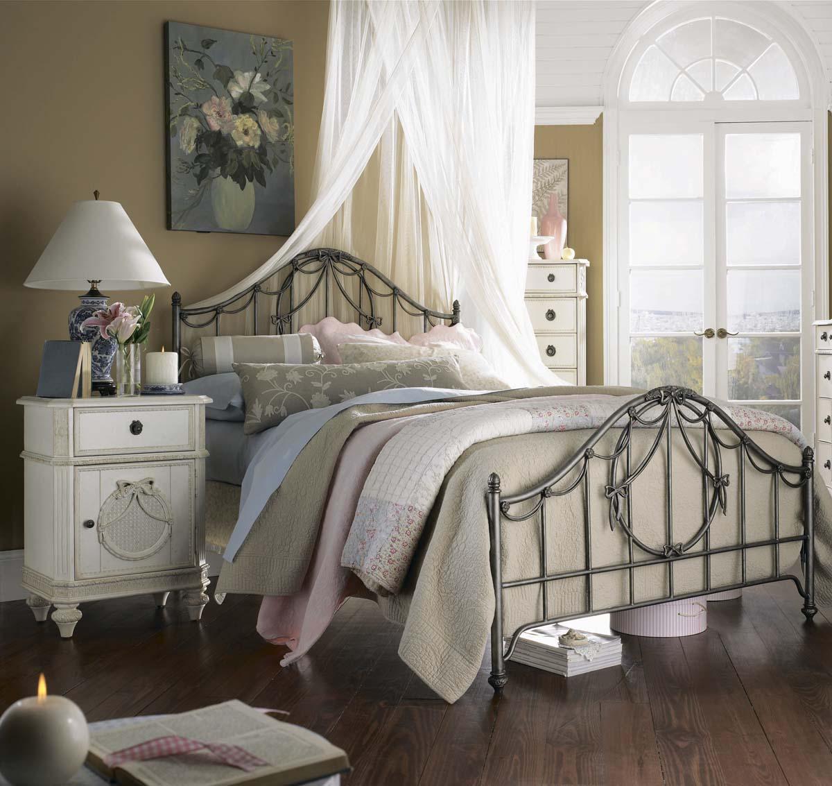 dormitorio vintage estilo