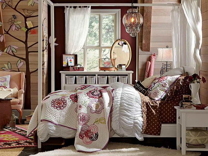 decorar dormitorios vintage