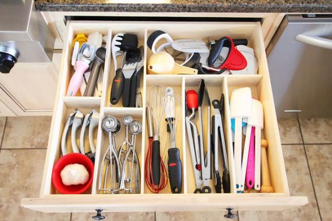 organizacion utensilios