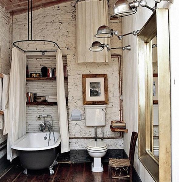 tipico cuarto de baño vintage | Hoy LowCost
