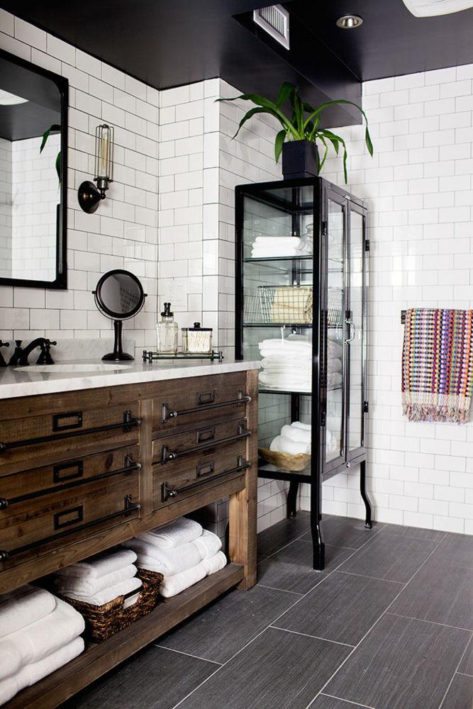 vintage baños