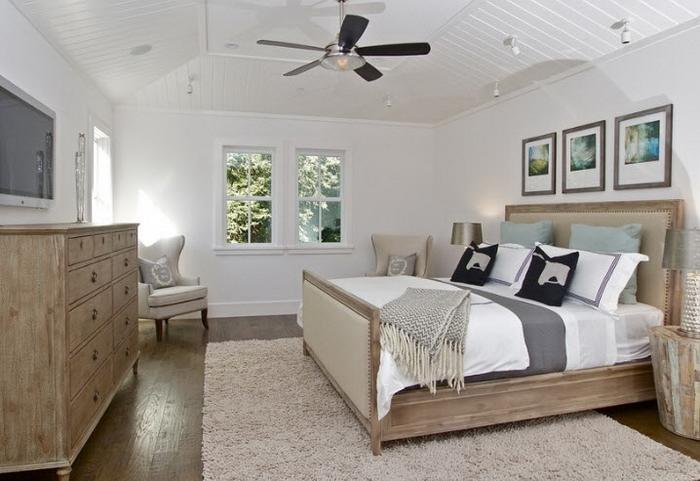Dormitorio Colores Tierra: Decoracion minimalista en dormitorio ...