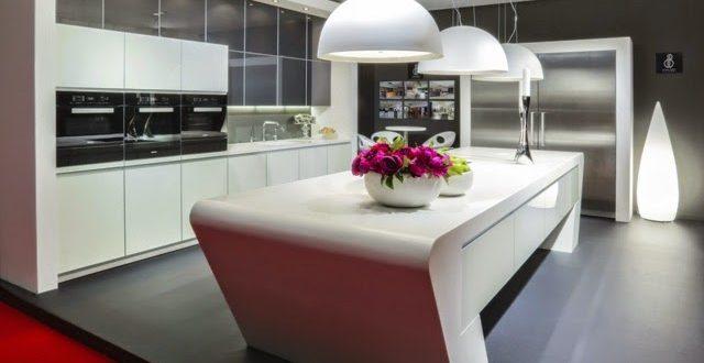 Decoracion 2017 cocinas con isla hoy lowcost for Decoracion cocina americana