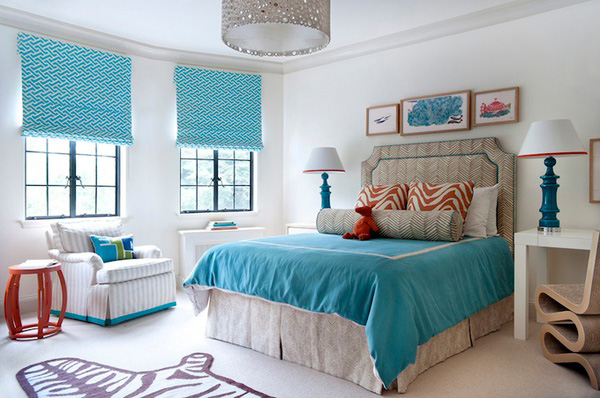 Colores para dormitorios matrimonio 2018 hoy lowcost for Aquamarine bedroom ideas