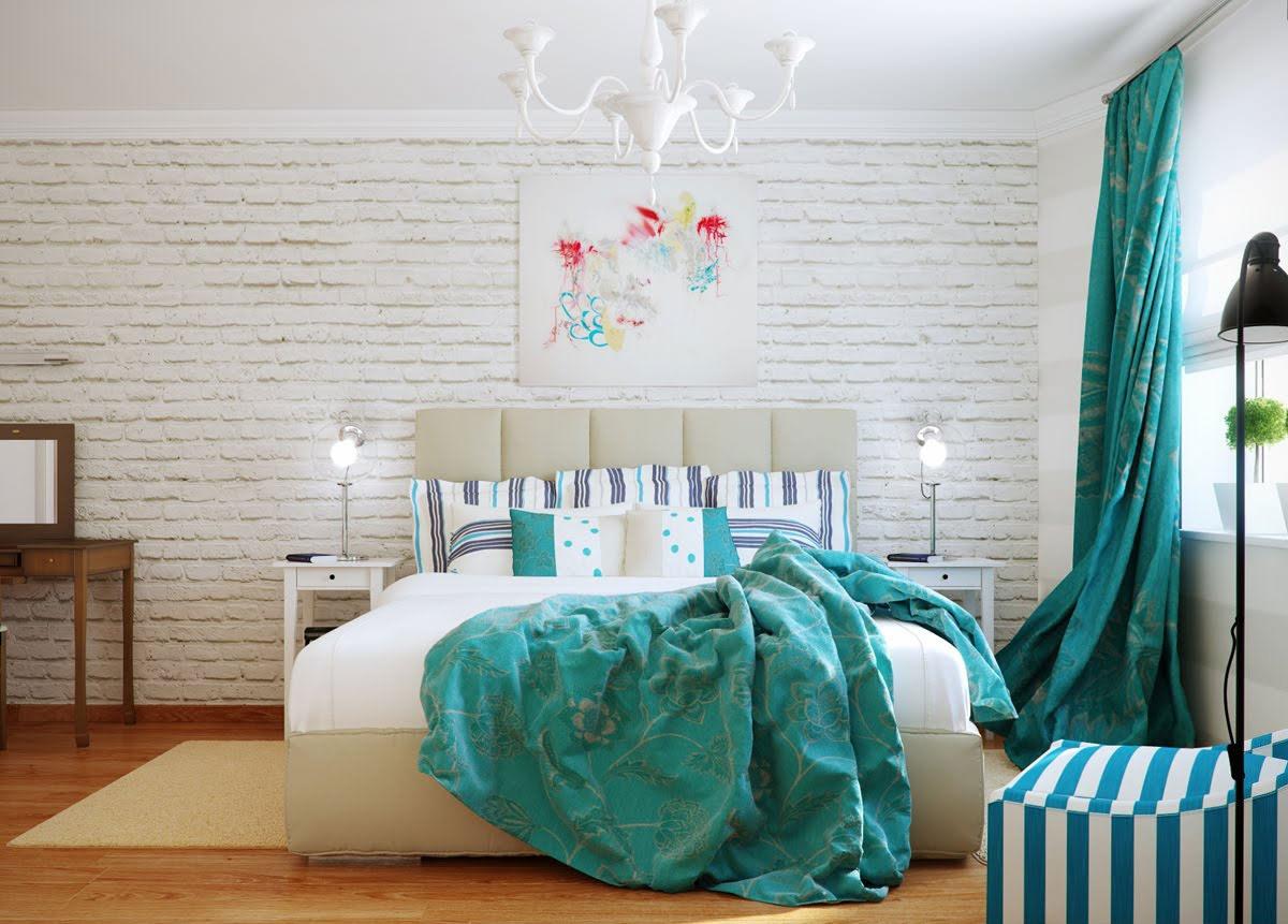 colores diseño dormitorios matrimoniales