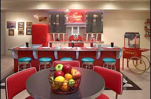 Decoracion retro cocina americana hoy lowcost - Decoracion retro americana ...