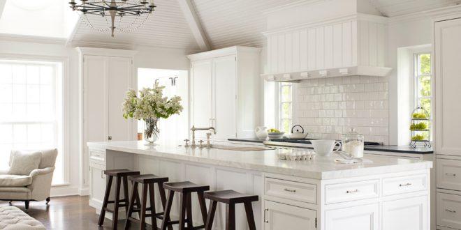 diseño cocina americana blanca | Hoy LowCost