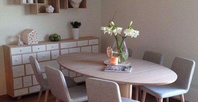muebles-comedor-estilo-nordico | Hoy LowCost