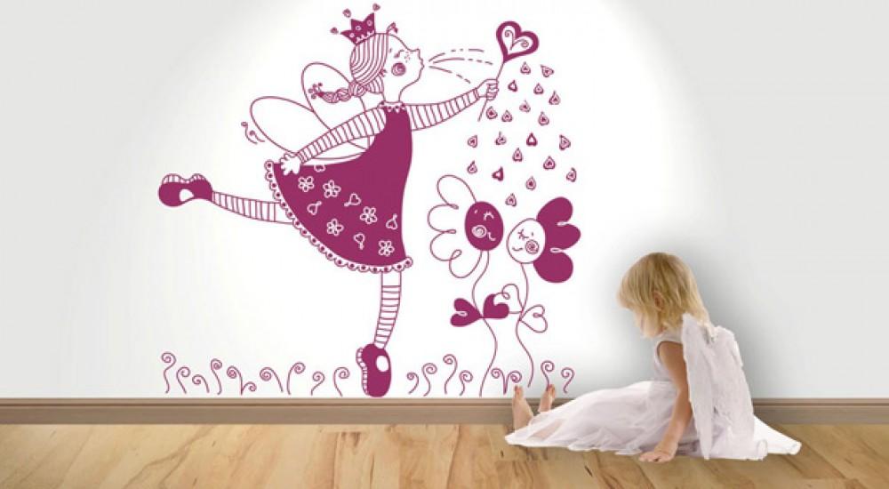 Los murales y vinilos renuevan tu hogar for Decoracion vinilos