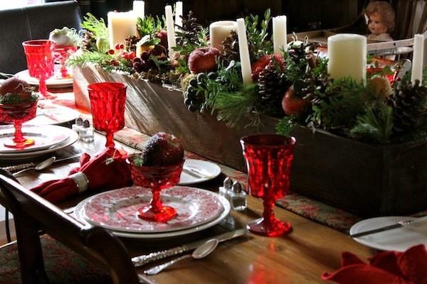 5 ideas para decorar la mesa en navidad - Decorar la mesa de navidad ...