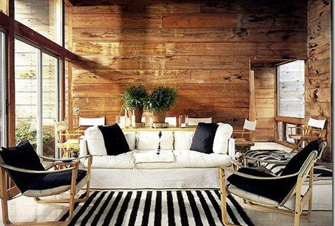 Diseno interior rustico moderno hoy lowcost for Rustico moderno