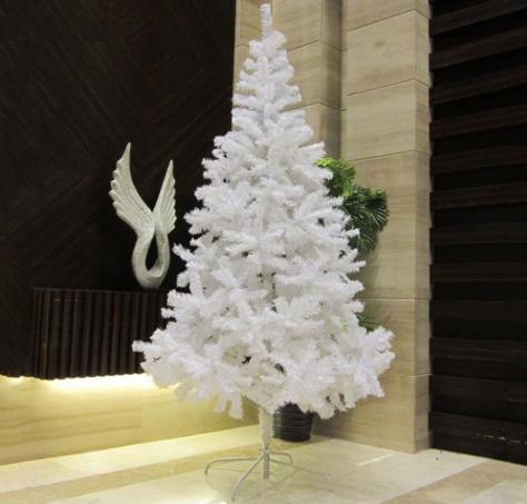 Ideas de decoraci n de navidad en blanco y azul - Arboles de navidad blanco ...