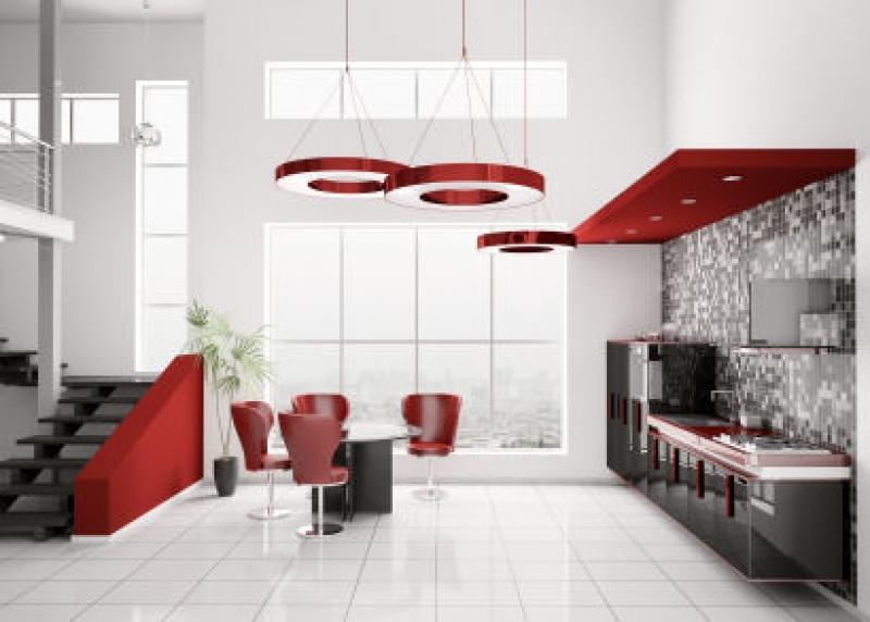 cocinas-minimalistas-rojo-y-negro