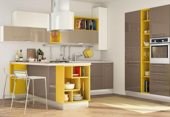 cocinas-modernas-amarillo