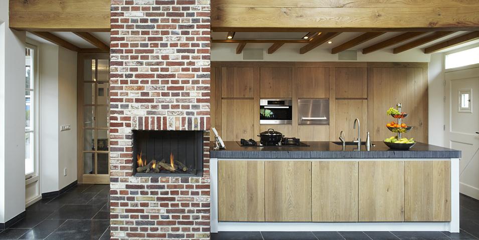 paredes rusticas cocinas
