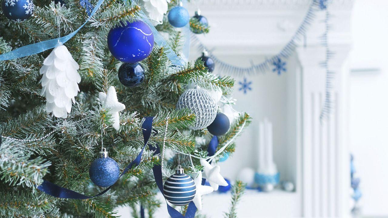 Ideas de decoraci n de navidad en blanco y azul - Decoracion en navidad ...