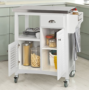 Nuevas ideas para decorar cocinas en el 2018 hoy lowcost for Mesa auxiliar cocina con ruedas