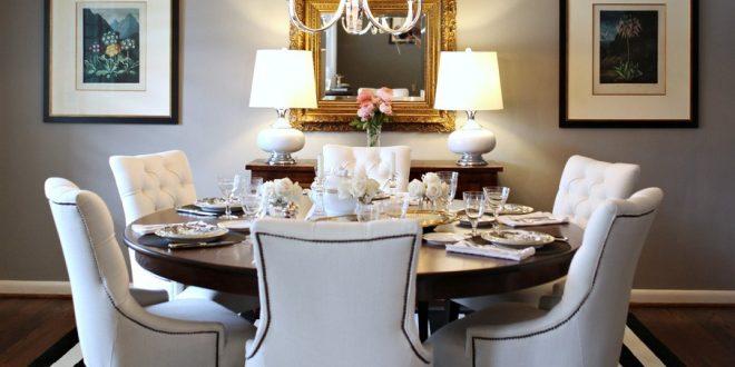 sillas-de-comedor-de-lujo-blancas | Hoy LowCost