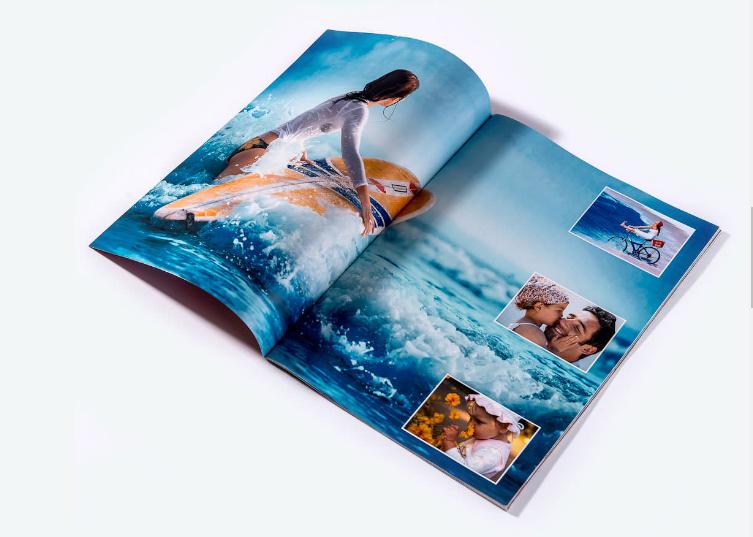 Album de fotos revista