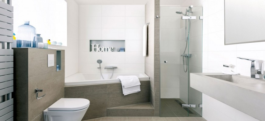 decoracion baño ducha y bañera