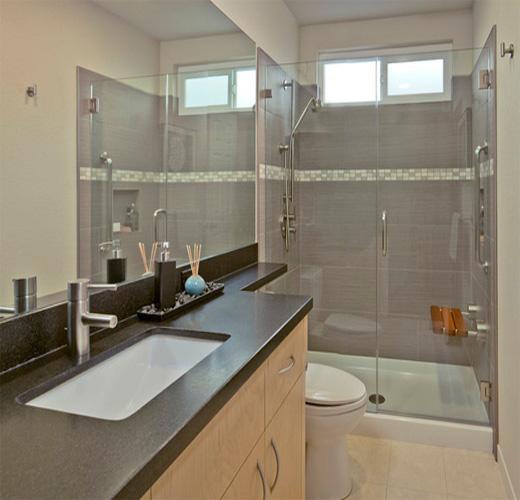 Ba os con ducha con mucho estilo para 2018 hoy lowcost - Banos modernos pequenos con ducha ...