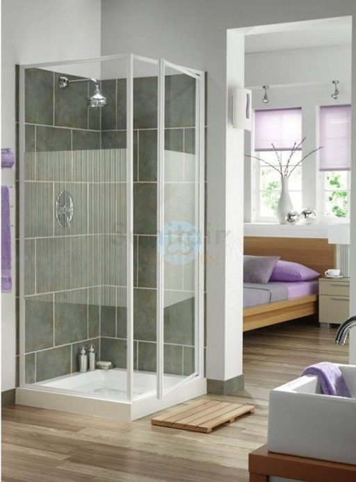 mamparas aseos con ducha