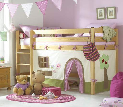 Camas infantiles originales las mejores ideas 2017 - Habitaciones infantiles ninas ...