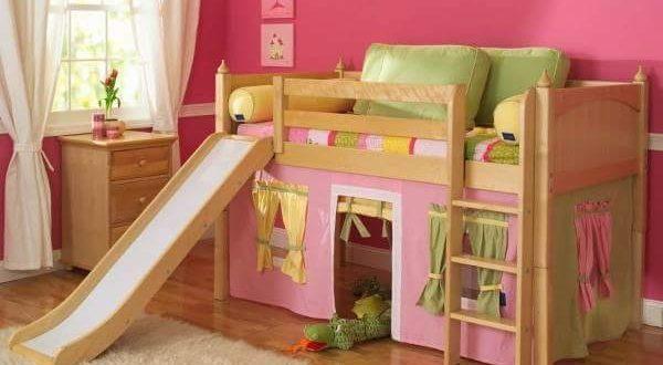 Habitaciones Infantiles Con Tobogan Dormitorio infantil casita ...