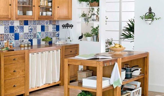 Muebles auxiliares de cocina tendencias 2017 hoylowcost for Muebles auxiliares de cocina
