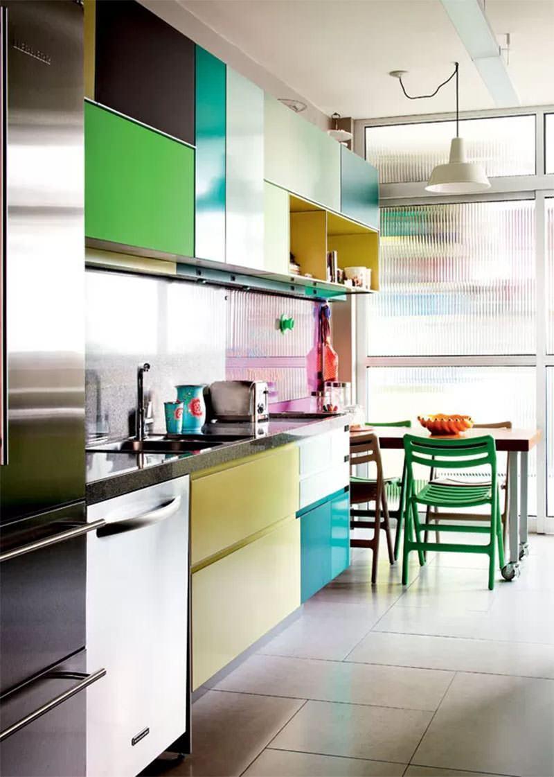 Cocinas verdes 2017 ideas para tu cocina hoy lowcost for Cocinas modernas 2016