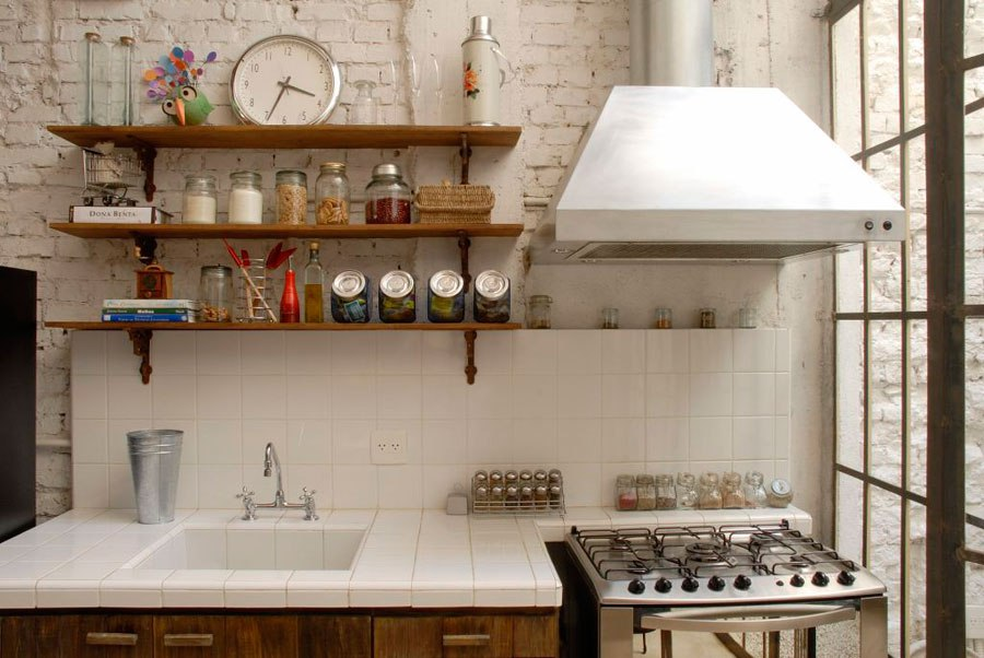 Muebles auxiliares de cocina tendencias 2017 hoylowcost for Estanteria auxiliar cocina