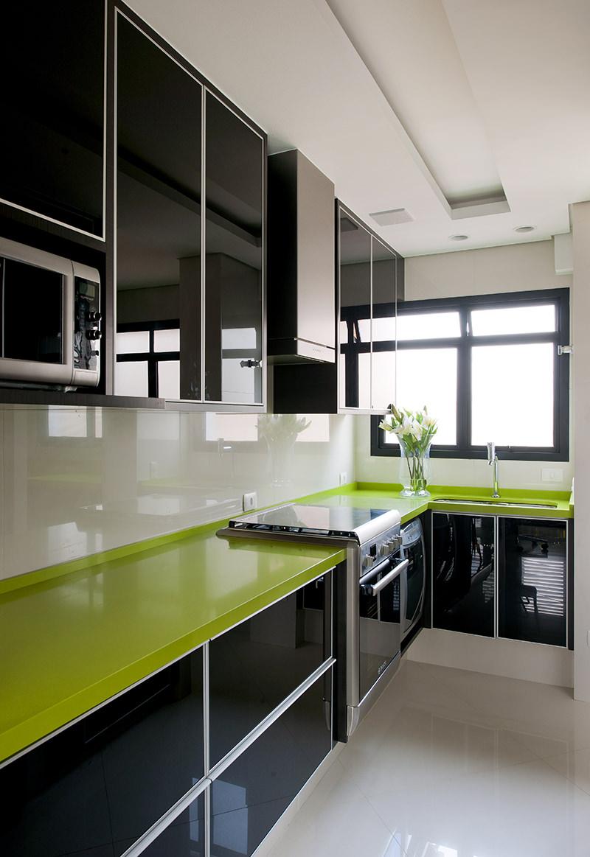 Cocinas verdes 2017 ideas para tu cocina hoy lowcost for Cocinas blancas modernas 2016