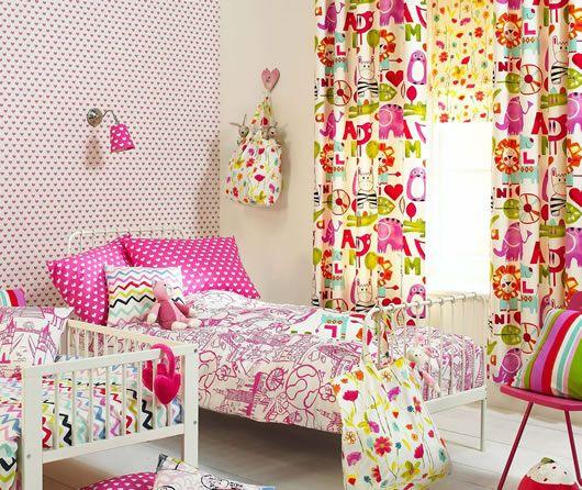 cortinas infantiles modernas