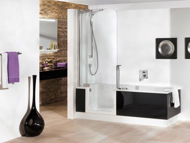 Cuartos de ba o con ba eras ducha hoy lowcost for Cuartos de bano pequenos con ducha