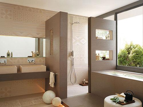 baños con ducha modernos