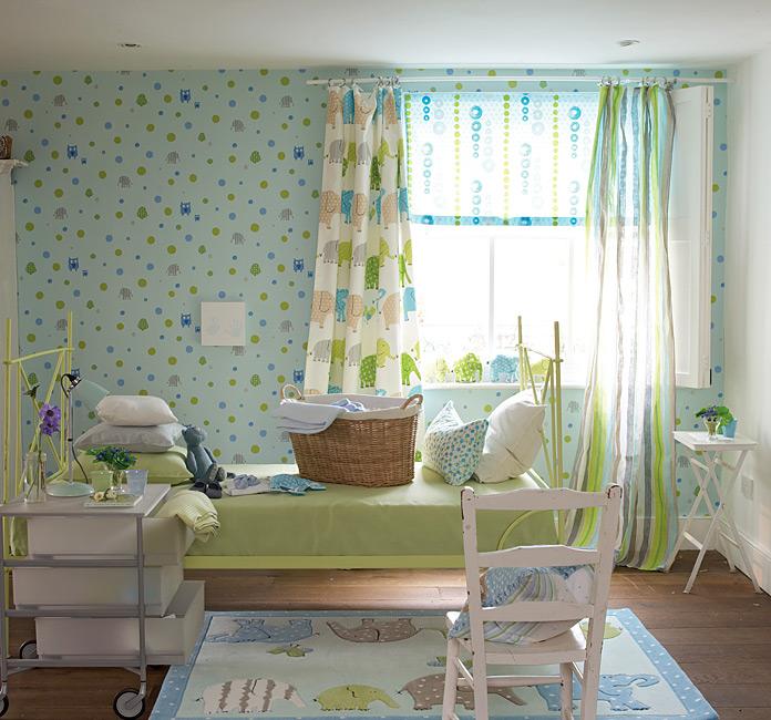 Cortinas habitacion infantil diy cortinas para una - Cortinas para la habitacion ...