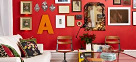 Decoración paredes rojas. Un toque diferente a tu hogar