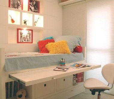 Habitacion juvenil aprovechar espacio hoy lowcost - Fotomurales habitacion juvenil ...