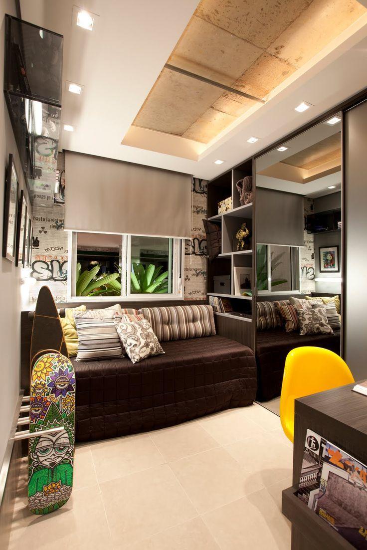Consejos para decorar habitaciones juveniles 2017 hoy - Habitacion juvenil chico ...