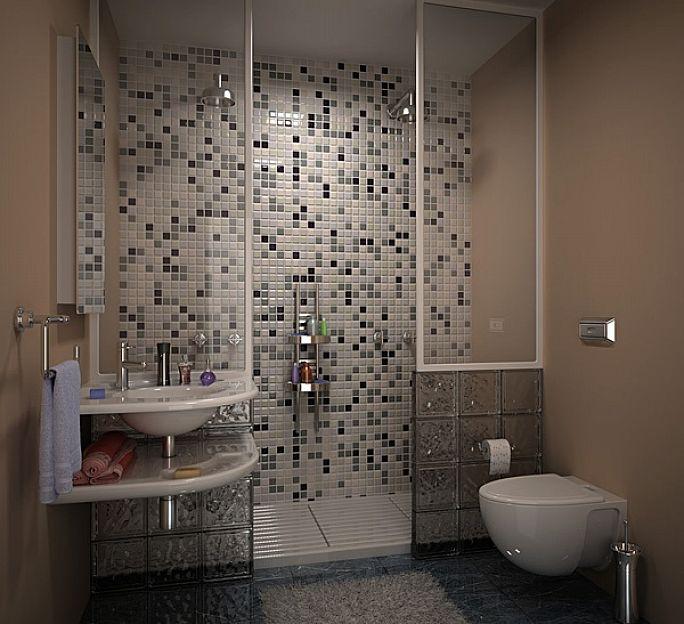 baños con ducha pequeños