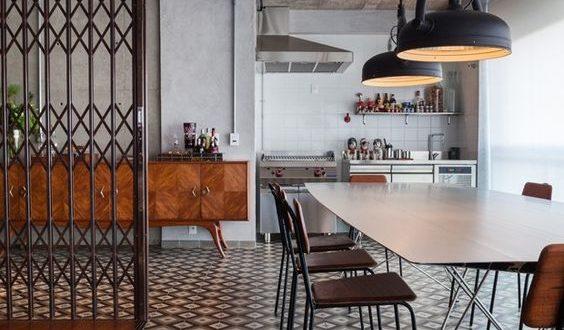 Mesa de comedor estilo industrial hoy lowcost for Mesas estilo industrial