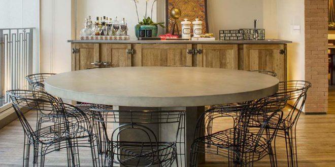 Mesa de comedor y sillas originales hoy lowcost - Mesas comedor originales ...
