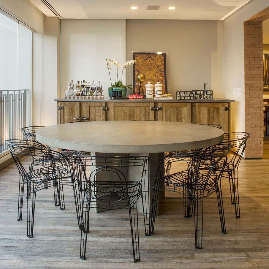 Mesas de comedor modernas 2017 todos los modelos hoy for Mesas redondas modernas comedor